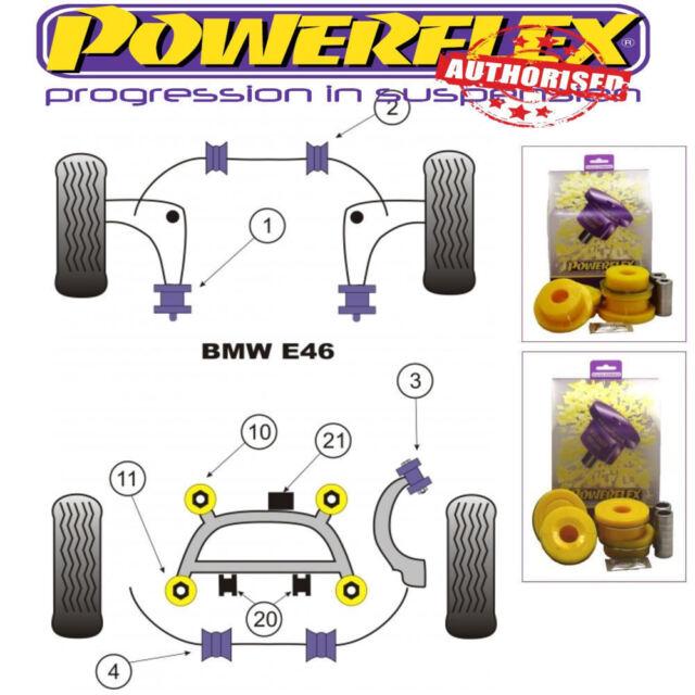 1999-2006 PFR5-4617 – Powerflex Rear Upper Arm Inner Bush Kit BMW E46 M3