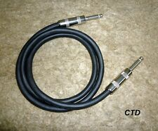 """Finast Quality Guitar Amp 1/4"""" Speaker Cable 27"""" 16-GAUGE HD 5-Year Guaranty NEW"""