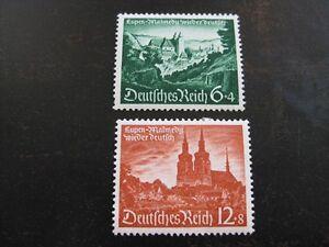 THIRD-REICH-1940-mint-MNH-Eupen-Malmedy-Annexation-stamp-set-CV-15-50