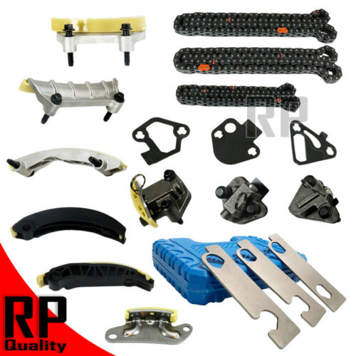 TIMING CHAIN KIT + CAMSHAFT TOOL fit GMC Buick Cadillac Chevrolet 2.8L 3.2L 3.6L