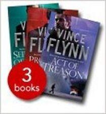 VINCE FLYNN ____  3 BOOK SET ____ BRAND NEW ____ FREEPOST UK