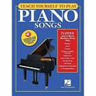 Teach Yourself to Play Piano Songs: Clocks and 9 More Modern Rock Hits by Hal Leonard Corporation (Mixed media product, 2016)