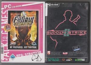 SUDDEN STRIKE 2 Fallout Tactics Sammlung PC Spiele - Meißenheim/Kürzell, Deutschland - SUDDEN STRIKE 2 Fallout Tactics Sammlung PC Spiele - Meißenheim/Kürzell, Deutschland
