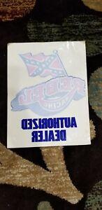 Details about NOS Vintage old BMX Rebel Racing Dealer Decal Sticker Rare SE  Jmc Hutch