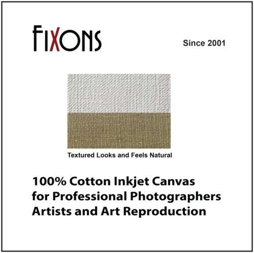 Cotton Canvas Matte for Epson Printers 17 x 40' - 5 Rolls
