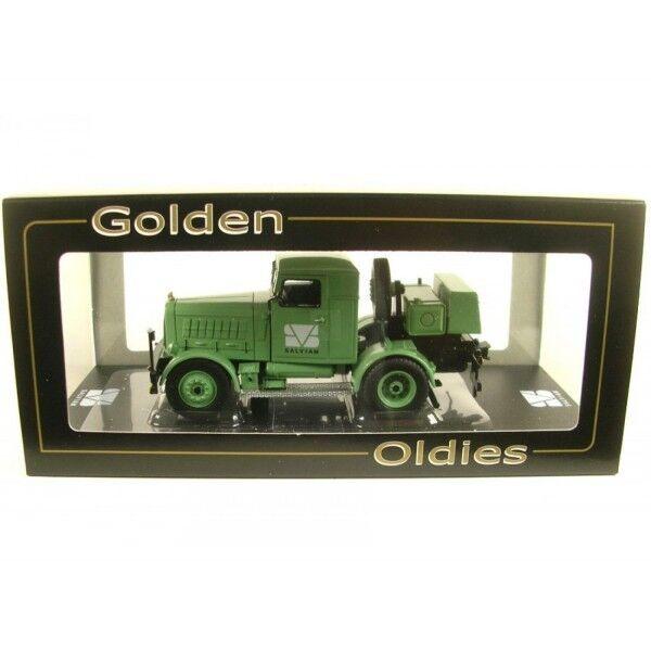 GMTs 3943 Hanomag ss100 tractor salviam nuevo en el embalaje original