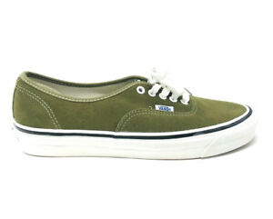 fdc91aba37 Vans Authentic Anaheim Factory 44 DX Suede Olive Green Men s 13 ...
