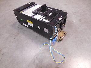 USED-Square-D-LA34250MC-I-Line-Circuit-Breaker-250A-480VAC-w-Auxiliary-Switch