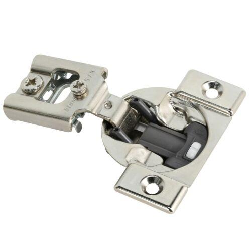 10 Pack Blum Blumotion 38N 105 Degree Cabinet Hinges 5//8 Overlay 38N355B.10