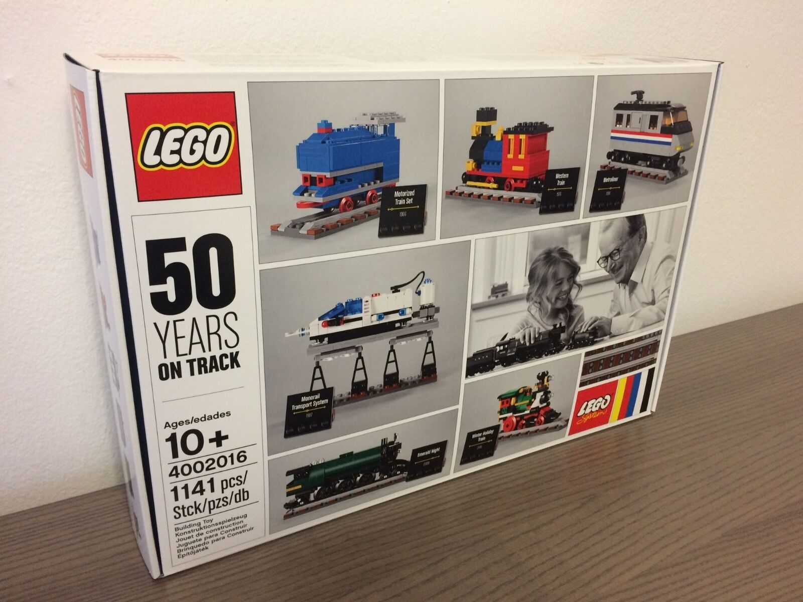 LEGO® 4002016  50 Years on Track Train Zug Lok NEU MISB SEALED