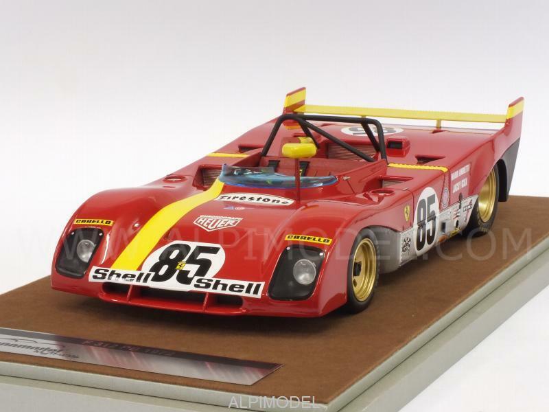 Ferrari 312 PB Winner Walkins Glen 1972 Andretti - 1 18 TECNOMODEL TM18-62A