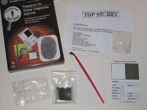 Undercover Spy Gear Fingerprint Kit Forensics Toy