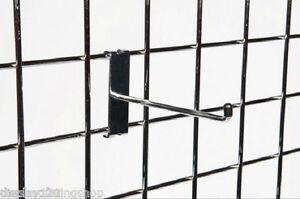 """100 X 10"""" Simple Prong Gridwall 254 Mm Long Maille Panneau D'affichage Support Crochet-afficher Le Titre D'origine"""
