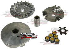 2002-2005 YAMAHA ZUMA 50 PRIMARY FRONT CLUTCH REPLACEMENT KIT SLIDING VARIATOR