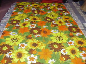 LARGE-VINTAGE-FLOWER-POWER-COTTON-TWILL-OR-BARKCLOTH-PANEL