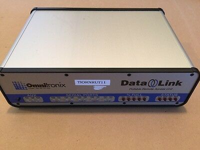 Computers/tablets & Networking Enterprise Networking, Servers Nice Omnitronix Data-link 880 Pollable Remote Access Unit Dl880 Dl-1m-6-33f-ea Durable Service