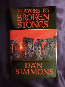 Details about Prayers to Broken Stones by Dan Simmons Autographed Signed  First Edition Novel