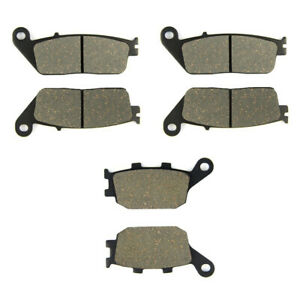 Sixity Organic Brake Pads  FA260 Rear Replacement Kit Full Complete mm