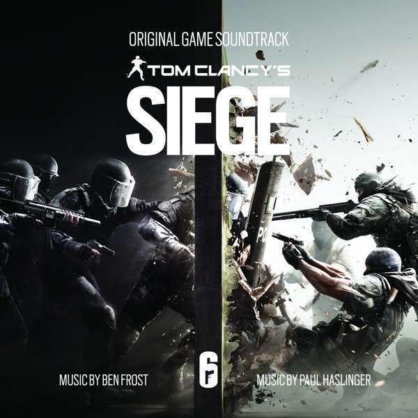 Ben Frost & Paul Haslinger - Tom Clancy's Rainbow Six: Siege - Origina NEW CD