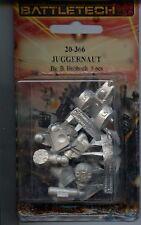 Battletech Juggernaut JG-R9T2 Mech MINT Iron Wind Metals