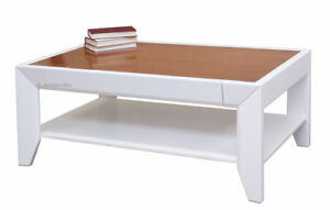 Tavolino Da Soggiorno Ciliegio.Dettagli Su Tavolino Da Salotto Piano In Ciliegio Tavolino Basso Da Salotto Bicolore