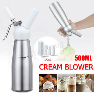 500ML-Cream-Maker-Gripped-Whipper-Foam-Dispenser-Cake-Butter-Coffee-Dessert-Tool