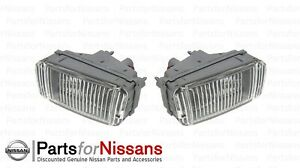 For Pair Set of 2 Fog Light Lamps Assembly for Nissan 300ZX 90-96 OEM Genuine