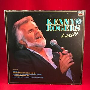 KENNY-ROGERS-Lucille-1986-UK-Vinyl-LP-EXCELLENT-CONDITION-best-of