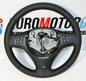 BMW-M-Sports-Volant-de-Direction-en-Cuir-Volant-1er-E81-E87-3er-E90-E92-X1-E84