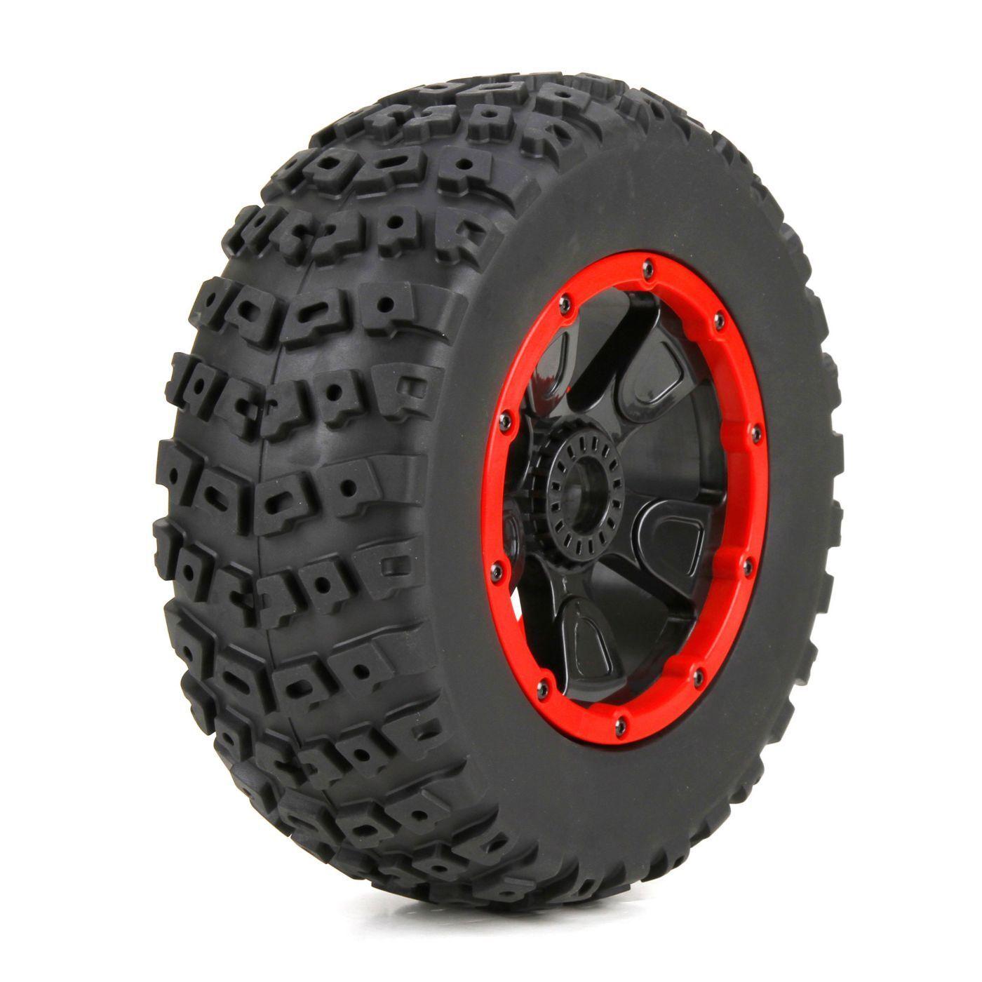 Losi Racing LOS45004 Left & Right Tire (1ea) Premounted 1 5 4wd DB XL