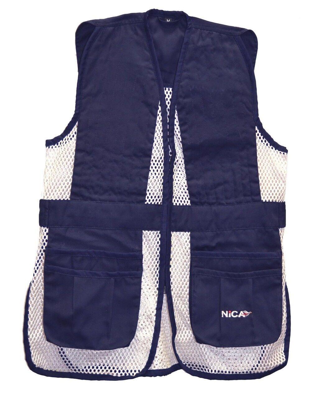 NICA Youth Kid's Ambi Shooting Vest-Navy