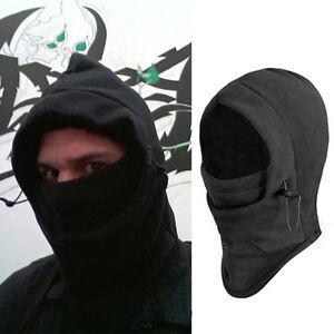 ... Neck Balaclava Winter Warm Face Fleece Hood Ski Mask Helmet Hat | eBay