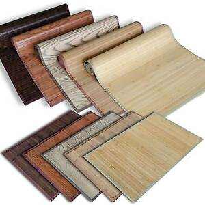 Bamboo Floor Mat Area Rug Kitchen Runner Bathroom Matting Bath Mat ...