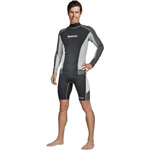 Mares-Men-039-s-Rash-Guard-Trilastic-Long-Sleeve-Shirt