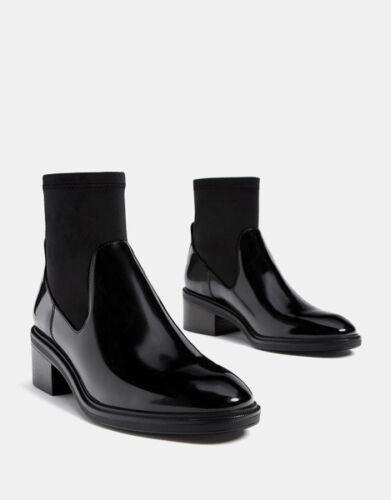5 Militärschuhe Schwarz Schuhe Niedrig Cm Stiefel 9650 Leder Simil Elegant DHYWIE92