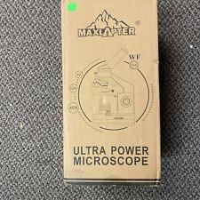 Maxlapter Prepared Slides Kit For School Teaching Ultra Power Microscope