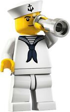 Lego Minifigures 8804 Series 4 Sailor Brand New in Factory Sealed Packet