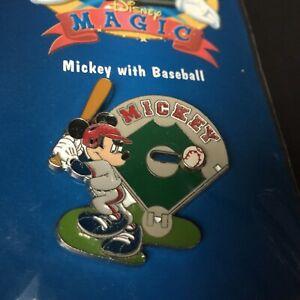 Pin-11966-12-Months-of-Magic-Mickey-Baseball-Slider-Disney-Pin-11966