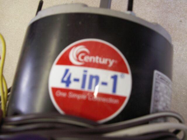 wire diagram on ao smith century ao smith 4 in one condenser fan motor  208-230v 1/3hp reversible