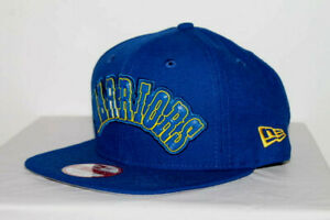 NEW ERA Golden State Warriors LIFTED LOGO 9FIFTY SNAPBACK BLUE NBA HAT