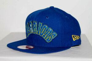 NEW ERA Golden State Warriors LIFTED LOGO 9FIFTY SNAPBACK BLUE NBA HAT