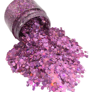 Pretty In Pink Chunky Glitter For Nails,Tumblers Crafts Makeup /& Epoxy Resin