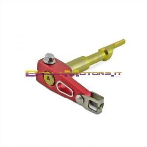 Sensible 090590a Bielletta Frizione Motore Minarelli Am6 Lighty Rosso Anodizzato