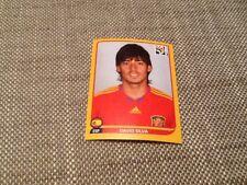 #578 David Silva España Panini Copa del Mundo 2010 edición oro suizo Pegatina Valencia