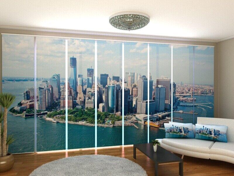 Fotogardine New York cortina de paneles SANELA con foto en grado