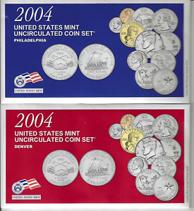 2018 United States Mint 20-Coin P/&D Uncirculated Mint Set OGP Brilliant Uncirculated