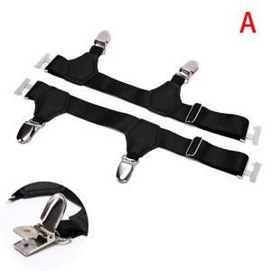 Men Socks Garters Elastic Sock Stays Belt Clip Adjustable Suspenders AccessoTB9