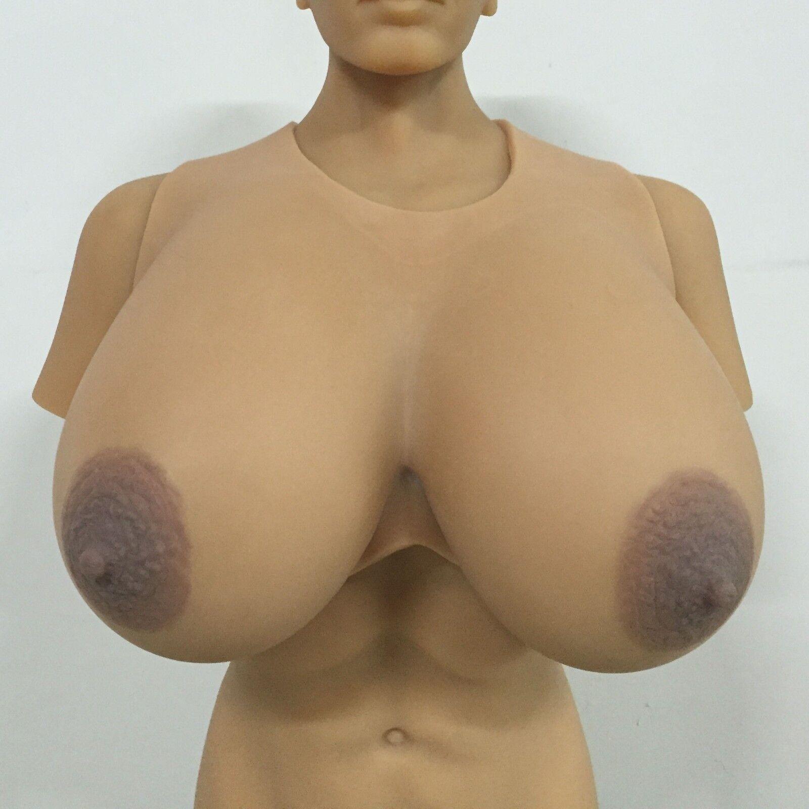 IVITA 16XL Huge Silicone Breast Form Crossdress 9.5KG Large Boob Enhancer