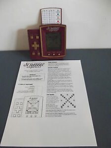 SCRABBLE EXPRESS ELECTRONIC HAND HELD GAME HASBRO | eBay