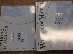 2006 Ford Focus Service Repair Shop Workshop Manual Set ...
